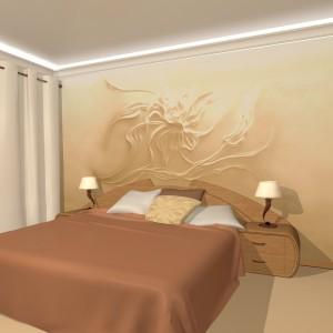 дизайн интерьера спальник проектрирование перепланировка 3Д визуализация