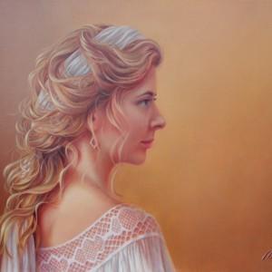 Картина холст масло портрет на заказ живопись