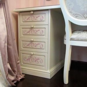 Роспись мебели декорирование и золочение предметов интерьера винтажный стиль модерн и прованс